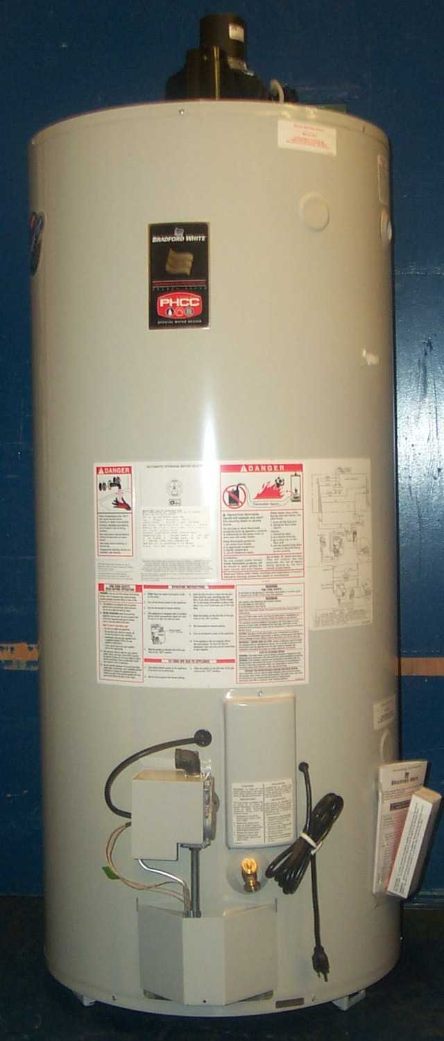 Picture of Recalled Gas Water Heater